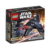 Конструктор LEGO  Star Wars Лего Микроистребитель Имперский шаттл  75163