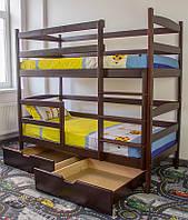 """Кровать двухярусная деревянная """"Санта"""" Voldi"""