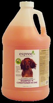 Espree Shampoo & Conditioner in One, 3,79 л - шампунь-кондиционер для собак с тропическими фруктами
