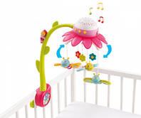Музыкальный мобиль Цветочек розовый Cotoons Smoby 110110R