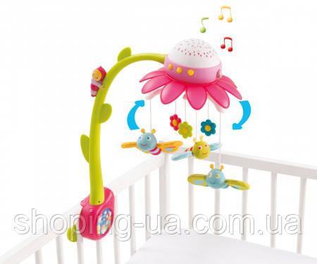 Музыкальный мобиль Цветочек розовый Cotoons Smoby 110110R, фото 2