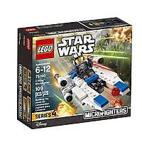 Конструктор LEGO Star Wars  Лего звездные войны Микро истребитель типа U 75160