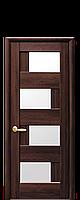 "Межкомнатные двери ""Сиена"" со стеклом сатин, фото 1"