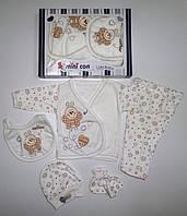"""Подарочный набор"""" Пчелка"""" для новорожденных 5 предметов. Размер 0-3 мес."""