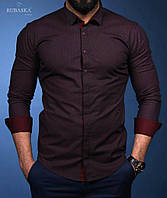 Нарядная мужская рубашка,новинки 2018  .