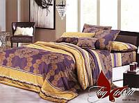Комплект постельного белья ТМ TAG семейный, постельное белье семейное XHY1522