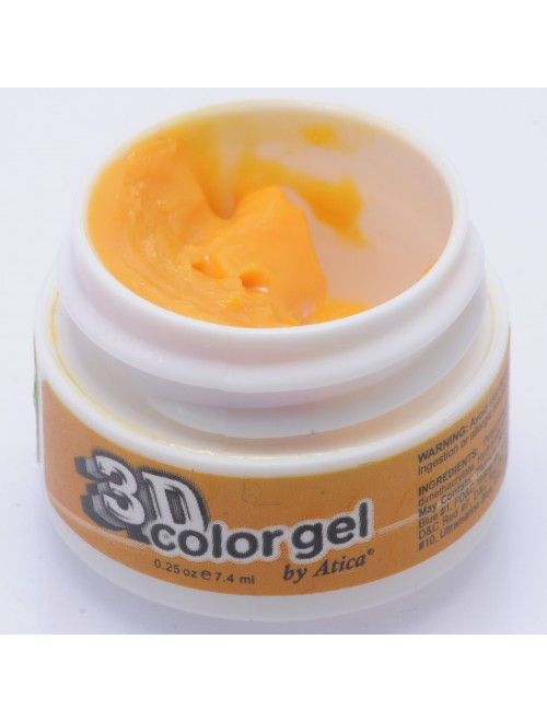 "3D гель Atica ""Orange"", 12 мл. №388"