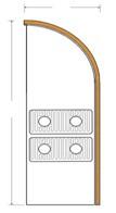 Декоративный радиатор с принудительной конвекцией FCFR 2