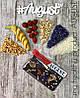 """Цветочная плитка """"AUGUST"""" на основе кэроба с фруктами и орехами"""