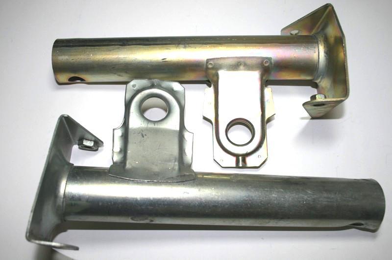Кронштейн бампера 2107 (труба), пара Самара