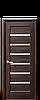 """Межкомнатные двери """"Линнея"""" со стеклом сатин"""