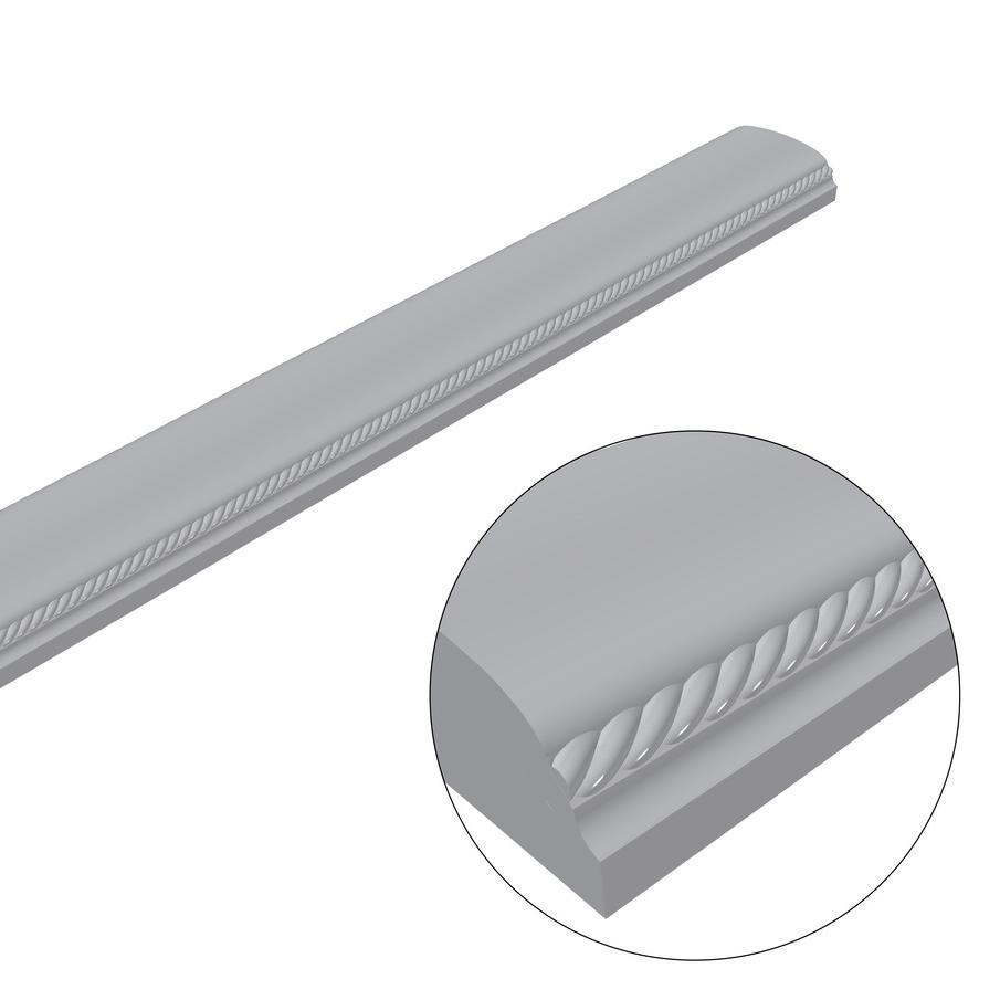 Перила (поручень) балюстрады для лестниц, террас и балконов (с косичкой) Per1.2