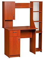 Компьютерный стол Импульс надстройкой. Стол для ПК в кабинет и офис
