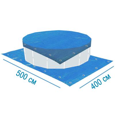 Тент- подстилка X-Treme 28904 для бассейнов 500 х 400 см