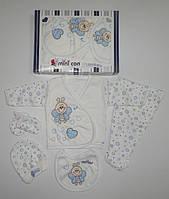 """Подарочный набор """" Пчелка""""  для новорожденных 5 предметов. Размер 0-3 мес."""