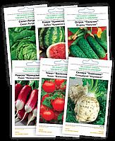 Семена овощей и цветов от 2,70 грн