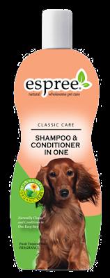 Espree Shampoo & Conditioner in One, 591 мл - шампунь-кондиционер для собак с тропическими фруктами