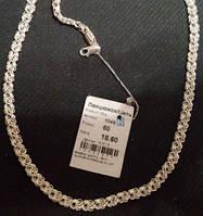 Ланцюжок срібний Цепочка серебрянная Роза 1049 белая