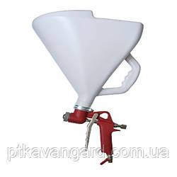 Штукатурный распылитель, три форсунки 4;6;8 мм, В/Б пластмассовый, 9000 мл, 3-6 b INTERTOOL PT-0403