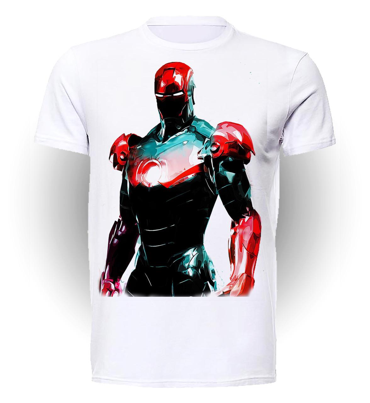 Футболка мужская размер L GeekLand Железный Человек Iron Man fantasy Art IM.01.004
