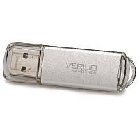 ➔Флешка USB Verico Wanderer 32 Gb Grey универсальная для компьютера ноутбука