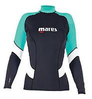 Женская лайкровая футболка для серфинга Mares Rash Guard (Trilastic); длинный рукав