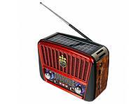 Радиоприемник 5-ти волновой GOLON RX-455S (SOLAR)
