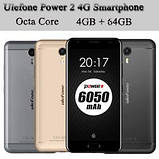 Сногсшибательный смартфон UleFone Power 2   2 сим,5,5 дюйма,8 ядер,64 Гб,16 Мп,6050 мА/ч., фото 3