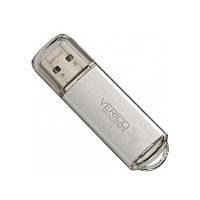 ➜USB флешка Verico Wanderer 8 Gb Grey для хранения фото видео музыки