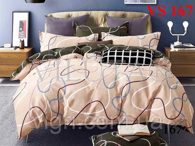 Постельное белье двуспальное, сатин, Вилюта (Viluta)  VS 167