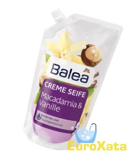 Крем-мыло (запаска) Balea Макадамия/Ваниль Macadamia&Vanille (500мл) Германия