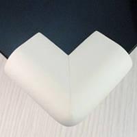 Защита на стеклянный стол. Белый