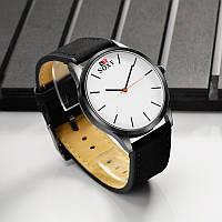 Мужские кварцевые часы SOXY nubuck (Black+White)