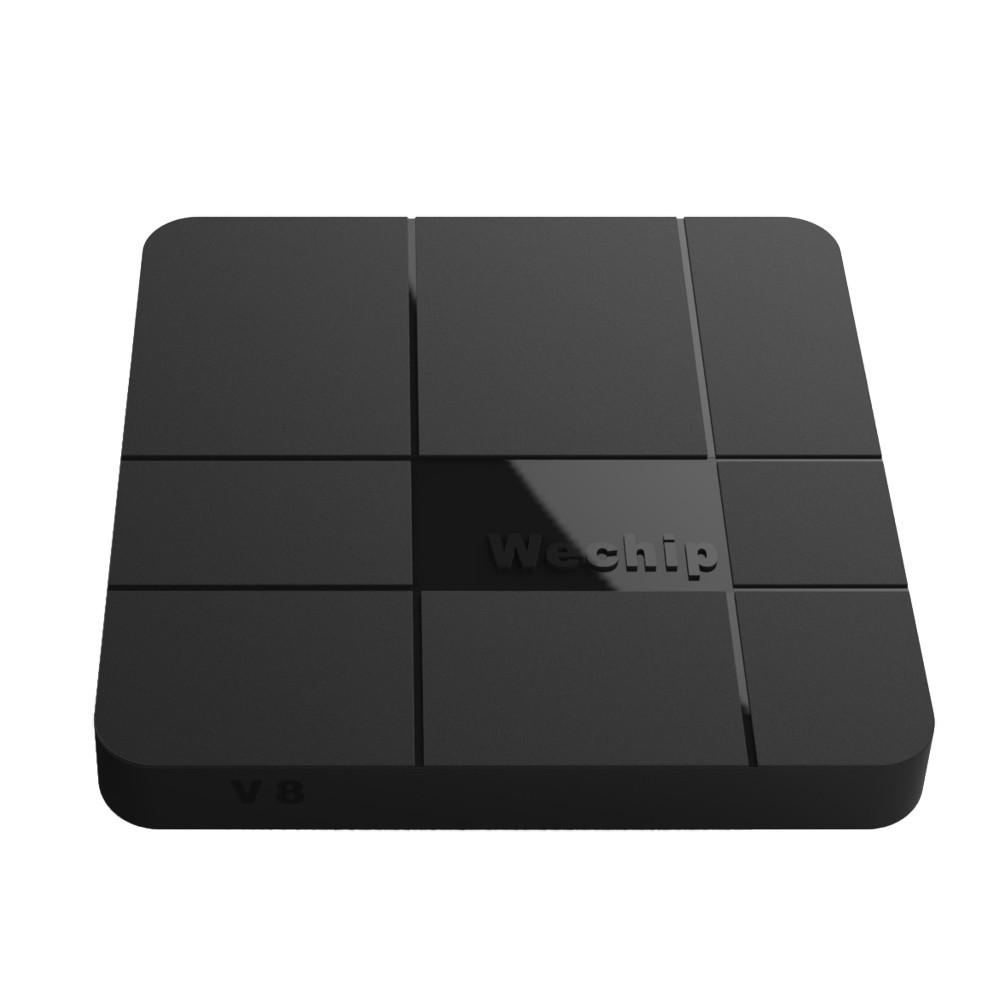 Андроид Смарт ТВ приставка Wechip V8 4 ядра