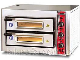 Печь для пиццы SGS РО 6262 DE (4+4х30) с термометром