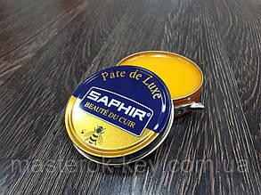 Паста для обуви Saphir Pate De Luxe цвет оранжево-желтый (79) 50 мл