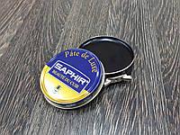 Паста для обуви Saphir Pate De Luxe цвет черный (01) 50 мл