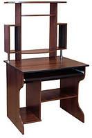Компьютерный стол Юпитер с надстройкой. Стол для ПК в кабинет и офис