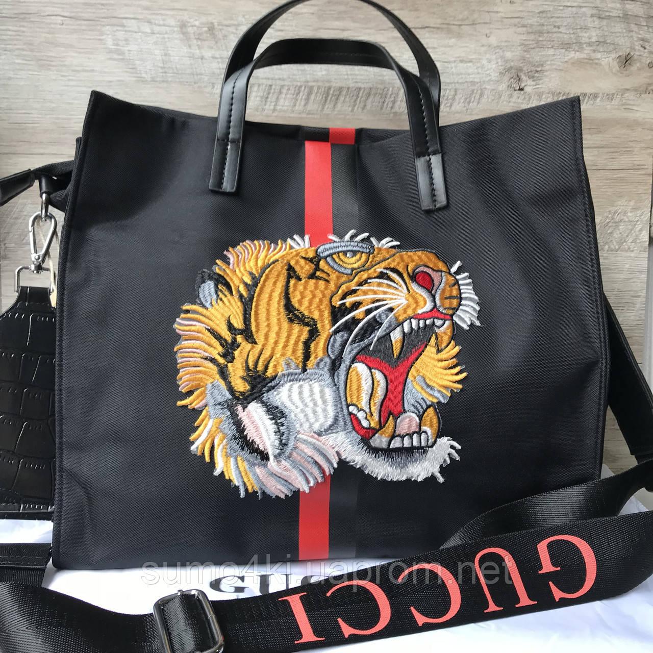 Женская спортивная сумка Gucci Гуччи, фото 1