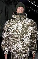 """Куртка утепленная """"Горка-Барс"""" цвет пиксель ВСУ"""