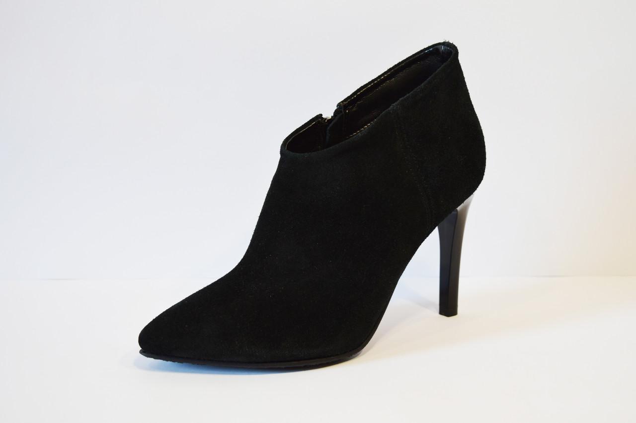 Женские замшевые ботинки Nivelle 5211