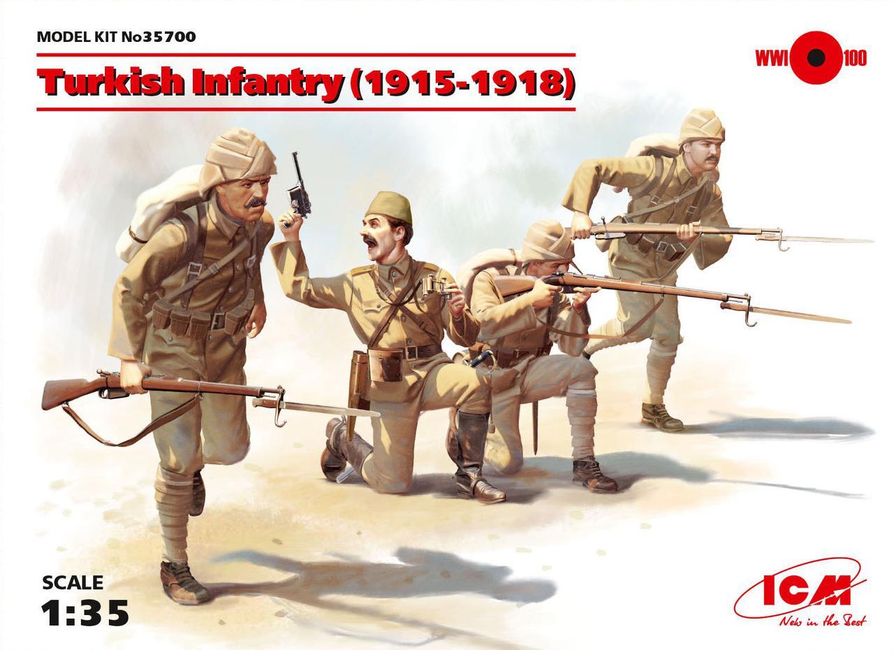 Пехота Турции (1915-1918 г.). 1/35 ICM35700