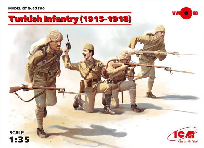 Пехота Турции (1915-1918 г.). 1/35 ICM35700, фото 2