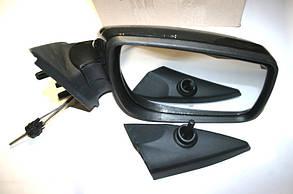 Зеркало боковое 1118-2190 правое (глянец) (нов. образца механика) Автокомпонент