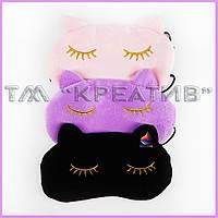 Флисовые маски для сна (под заказ от 50 шт)