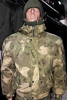 "Куртка утепленная ""Горка-Барс"" зеленый атакс"