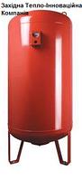 Розширювальні баки WRV циліндричної форми, з опорою, ємністю 200-500л 10.0, EPDM резина, 4.0, WRV 500, 500, 500.0, Weser, Вертикальное (с ножками), Нет, Мембранный