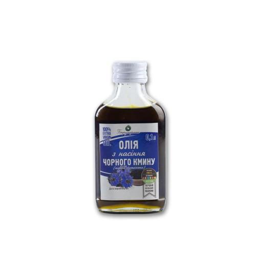 Масло чёрного тмина Damascena 100 мл. холодный отжим