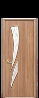 """Межкомнатные двери """"Камея"""" со стеклом сатин и рисунком, фото 1"""