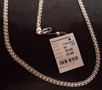 Ланцюжок срібний Цепочка серебрянная 1146 б Змейка